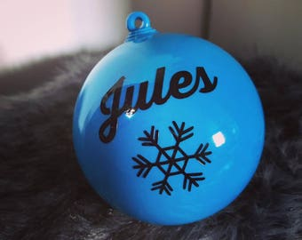 Ornament personalized with name