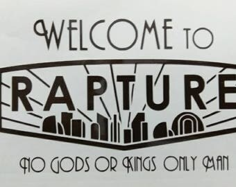 Welcome to Rapture - Bioshock Vinyl Decal