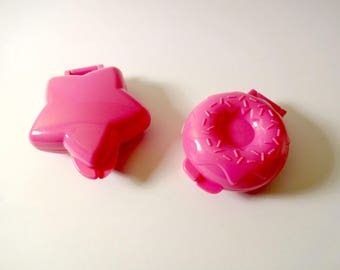 Pop cakes star and donut - creative cooking - modeling - casting molds