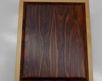Maple and Kingwood Cigar Humidor (90 Count)