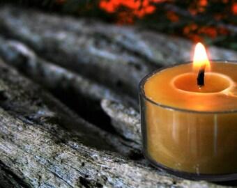 Manuka Beeswax Tealight Candles - Pack of 6