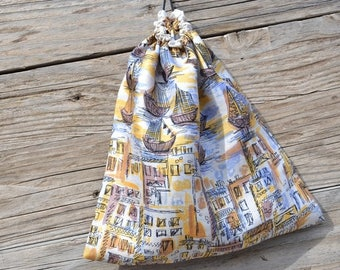 Travel lingerie silk pouch