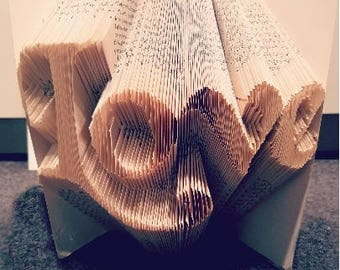 LOVE BOOK FOLDING Pattern Bookami
