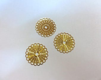 10 prints insert 15mm rose gold jewelry headband