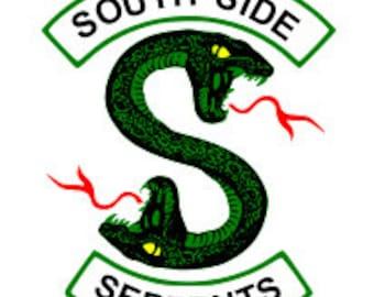 South Side Serpents Riverdale SVG image