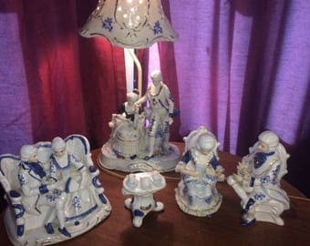 Lamp & Figurine Collection