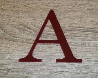 Letter sign PLEXI model CENTURY; all letters available