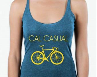 Cal Casual Racerback Tank