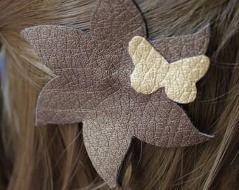 Flower textile trend autumn colors
