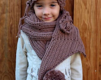 Cover + scarf/shawl for child