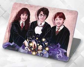 Harry Potter Trio Macbook Air 13 Macbook Pro 13 Case Macbook Air 11 Case  Macbook 12 Case Macbook Air Macbook Air Case Macbook Case