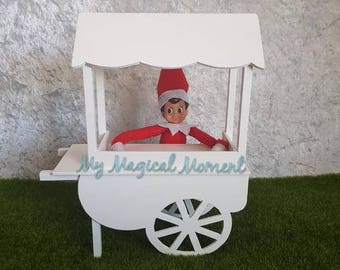 Elf On The Shelf Compatible prop- vendor cart