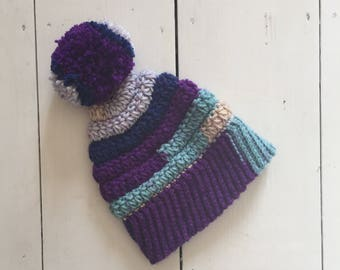 Starburst Bobble Hat PDF Pattern
