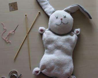 Knitting wool made Bunny