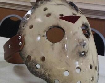 Jason Goes to Hell inspired Fiberglass Hockey mask