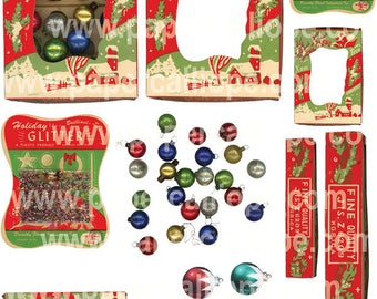 PaperCalliope - Vintage Christmas Packaging 2
