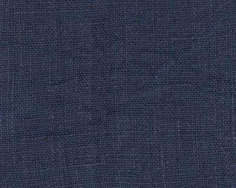 Midnight Blue linen sold Cup from 25 cm for making tablecloth
