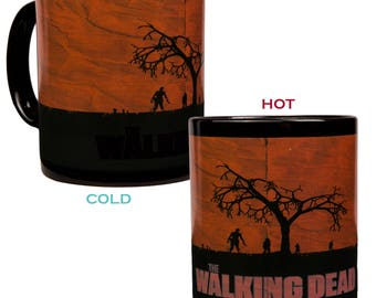 The Walking Dead Heat Reactive Color Changing Coffee Mug