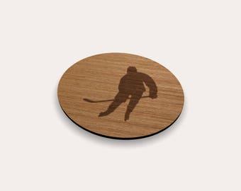 Ice Hockey Player 262-331 Coaster (Set of 4)