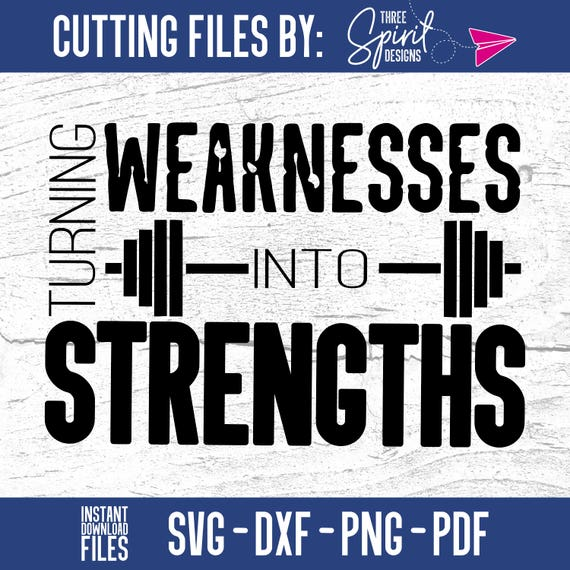 turning my weaknesses into strengths The idea of turning weaknesses into strengths is changing your perspective if you are short in basketball, you will remain short and retain the disadvantages of being short.