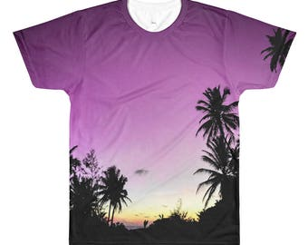 Surf Dreams All-Over Printed T-Shirt