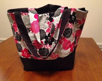 Handmade Tote Bag, Fabric Bag, Bag, Bag Purse