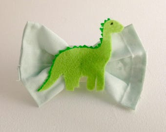 Dinosaur Hair bow, Fabric Hair bow, Bows for Adults and Children