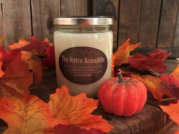 Pumpkin Spice Soy Candle - $10.00 USD