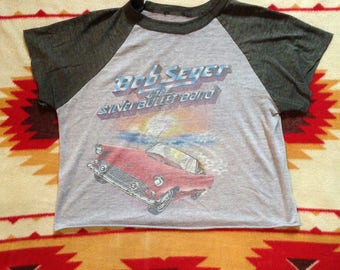 1983 Vintage Bob Seger Going the Distance Tour T-Shirt
