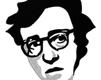 Woody Allen Embroidery File