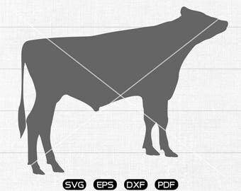 Cow SVG Files, ox Clipart, cricut, cameo, silhouette cut files commercial & personal use