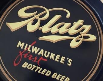 1940's Blatz Beer Tray