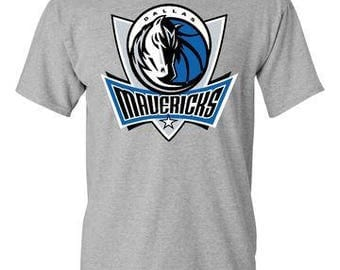 Dallas Mavericks T-Shirt Gray