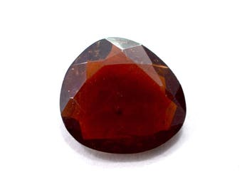 Garnet Natural Pyrope Garnet Both side Faceted Polki 3.10 cts. 10.5x11.5 mm From Mozambique 4041