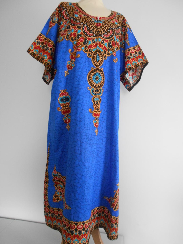 robe longue boubou en wax pagne africain. Black Bedroom Furniture Sets. Home Design Ideas