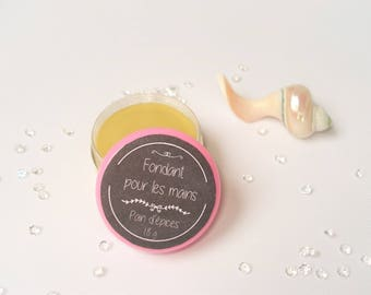 Fondant moisturizing hands - gingerbread - salve for hands - 20 ml or 18 g