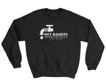 Wet Bandits Home Alone Crewneck Black Sweatshirt