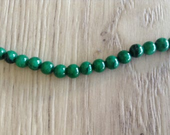 Stone Mountain round 4 mm beads