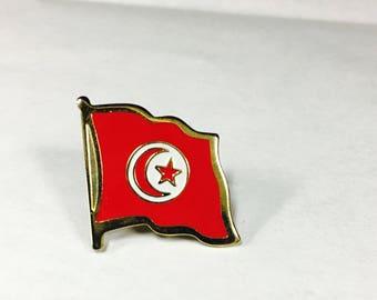 Tunisia Flag Pins