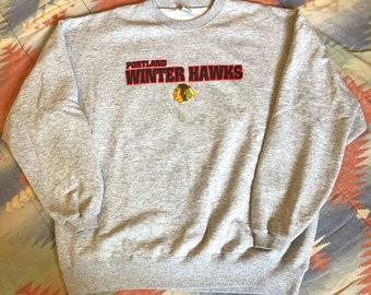 VTG Portland Winter Hawks Crewneck