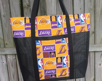 Los Angeles Lakers Tote