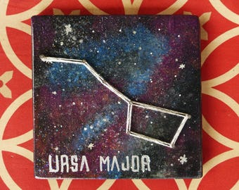 """Constellations Collection - String Art - 5.5""""x5"""" squares - Handmade and made to order"""
