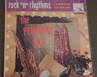"Vintage Saxophone Led Rock LP Femine Sax Rock ""n"" Rhythms of the Dayton Selby Trio featuring Willene Barton"