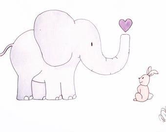 Elephant and Rabbit Friends Pt.1