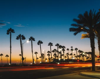 Sundown Huntington Beach California (Digital Download)