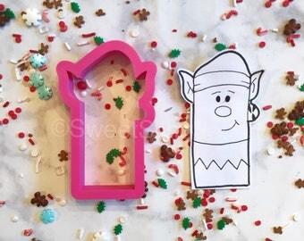 Elf Stick Cookie Cutter