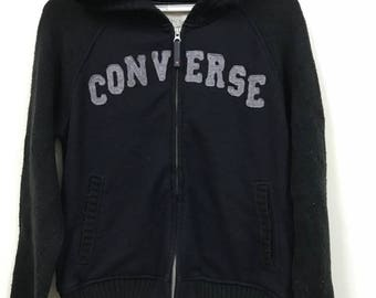 Vintage Converse Big Logo Embroide Hoodies Light Jacket