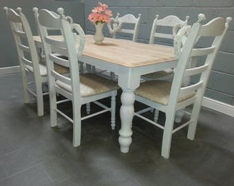 Beautiful 6ft table set