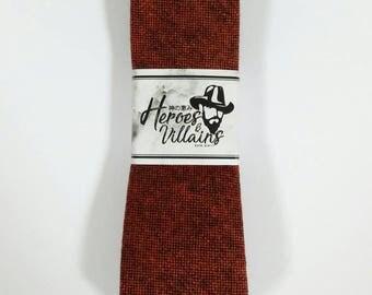Foxy brown wool tie,skinny ties,yellow skinny tie,dapper skinny ties,groomsmen tie,floral ties,wedding ties,wool ties,dapper tie,brown tie
