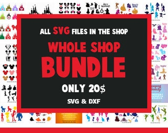 Svg Bundle Svg ALL Files in Shop , svg dxf for Silhouette Cameo and Cricut